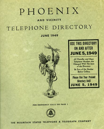 Telephone Directory Phoenix and Vicinity, 1949.jpg